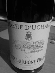 Quality Cotes Du Rhone Village, a step above the average found on our supermarket shelves.
