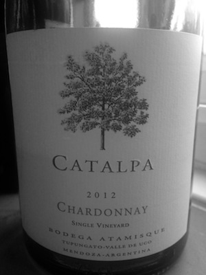 Top quality Burgundian style Chardonnay from Argentina's Uco Valley.