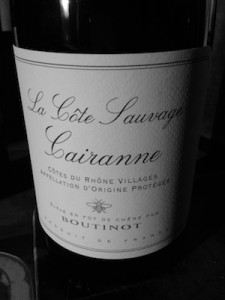 Cairanne is the best Southern Rhone region you may never have herd of… this is intense, complex and more than a little Rioja like.