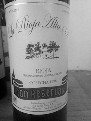 The big granddaddy version of the Vina Arana… a special wine for very special occasions and priced accordingly!