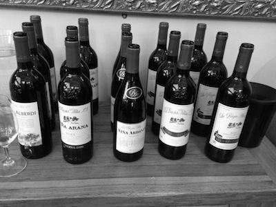The Wines of La Rioja Alta, stunning one and all and impressively varied.