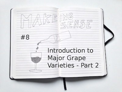Making Sense (#8 Introduction to Major GRape Varieties - Part 2)