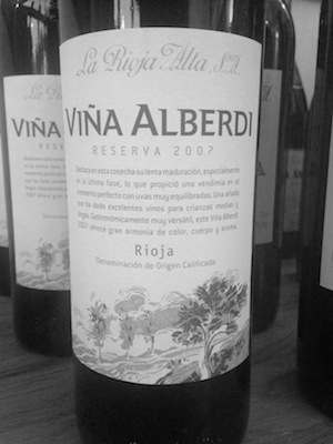Entry Level this may be, but La Rioja Alta's first wine of the night would wipe the floor with most Rioja out there… soundly!