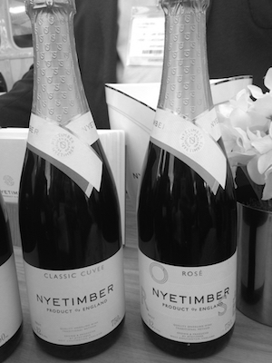 Nyetimber Classic Cuveé and their new Rosé NV