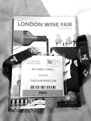 Wine tasting event london